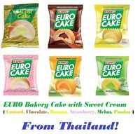 EURO Puff Cake and Sweet 6 Flavored Cream (Best 1st from Thailand)
