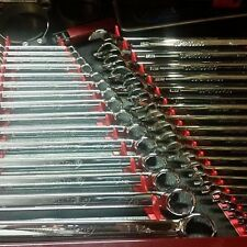 Red Wrench rail organizer holds 40 wrenches Space Saver Strong &Thick Plastic