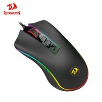 COBRA M711 RGB USB Wired Gaming Mouse 10000 DPI 9 buttons mice For Computer PC