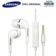 Genuine Samsung Earphones Earbuds 3.5mm Aux Wired With Mic Volume Control