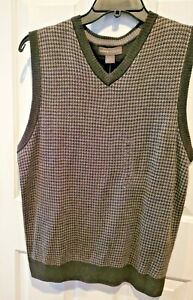 Tricots St Raphael charcoal Sweater Vest M  NEW WITH TAGS