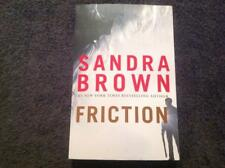 FRICTION By Sandra Brown Book