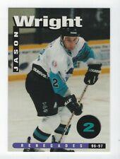 1996-97 Richmond Renegades (ECHL) Jason Wright