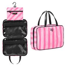 Victoria's Secret Signature Jetsetter Travel Case Hanging Organizer Makeup Bag