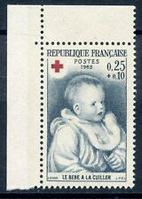 STAMP / TIMBRE FRANCE NEUF N° 1466a ** CROIX ROUGE / RENOIR / ISSUS DE CARNET