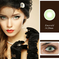 1 Pair Unisex Charm Big Eye Makeup Cosmetic Colour Contact Lenses Beauty Bien