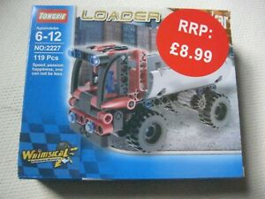 TONGXIE TECHNIC HIGH SPEED RED GREY TRUCK  NEW IN BOX AGE 6 - 12