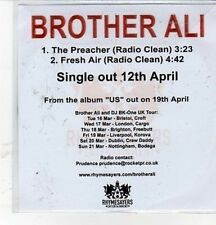 (CZ117) Brother Ali, The Preacher - 2010 DJ CD