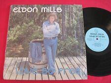 RARE PRIVATE XIAN LP - ELDON MILLS - LOVE SO FREE - PANAMA CITY FL
