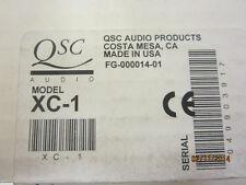 QSC XC-1 Electronic Audio Cinema Crossover Unused ! NIB