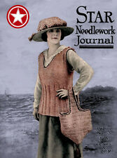 Star Needlework Journal #3.3 c.1918 Reticella Crochet & Knitting For the Troops