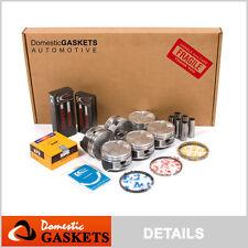 93-02 Mazda 626 MX6 Millenia Ford Probe 2.5L Full Gasket Pistons&Bearing&Ring KL