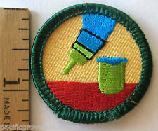Girl Scout 2001-2011 Junior DO IT YOURSELF BADGE Handyman Paint Brush Patch NEW