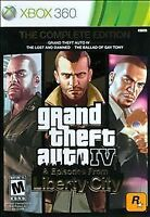 NEW Grand Theft Auto GTA IV 4 The Complete Edition Xbox 360