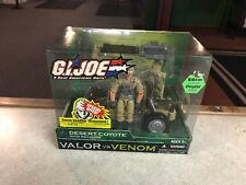 2004 GIJOE COBRA Valor vs Venom DESERT COYOTE with Recondo Set NIB