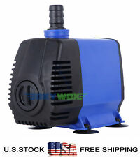 110V Submersible Water Pump 1717GPH Fish Tank Pond Fountain Fall Hydroponic 85W