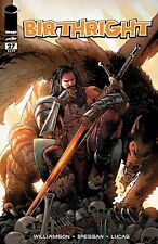 BIRTHRIGHT 27 IMAGE WALKING DEAD TRIBUTE VARIANT NM