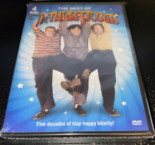 The Best of the Three Stooges, 4 DVDs 📀, 5 Decades Of Laughs, Over 8hrs