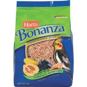 Bonanza 4 Lb. Complete Nutrition Cockatiel and Medium Beak Gourmet Bird Food