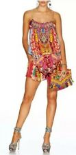 New Camilla Franks Childs Play Romper Shoestring Strap Playsuit 3 Uk 10 12 Silk