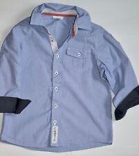 VERT BAUDET chemise manches longues bleue pour garçon de 4 ans (102 cm)