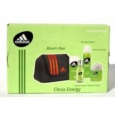 "Adidas ""Citrus Energy"" Beauty Bag + Eau de Toilette 50ml + Doccia Schiuma 100ml"