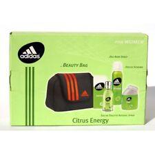 """Adidas """"Citrus Energy"""" Beauty Bag + Eau de Toilette 50 ml + Shower Foam 100 ml"""