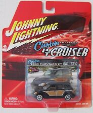 JOHNNY LIGHTNING CUSTOM CHRYSLER PT CRUISER 2003 CHRYSLER PT CRUISER BLUE