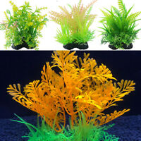 Ornamental Decor Simulation Plant For Aquarium Fish Tank Plastic Grass Decor