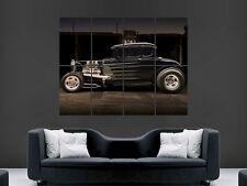 Cartel de máquina de coche Hot Rod Motor EE. UU. impresión imagen imagen gigante