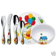 WMF Kindergeschirr-Set 6-teilig Winnie the Pooh Cromargan Edelstahl Rostfrei 18/