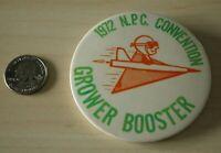 1972 NPC National Potato Council Grower Booster Pin Pinback Button #31628