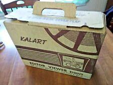 Vintage Working Bakelite Kalart 8mm Editor Viewer Eight Color Black/White Movies