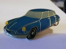 Citroën DS Lapel Pin Badge BLUE - View Advert and Pictures (BB)