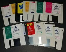 Lot of 13 Collectible AOL 3.5 Inch Floppy disks Windows and Mac