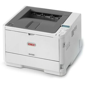 OKI A4 Mono Printer B432dn Network/Duplex 45762013