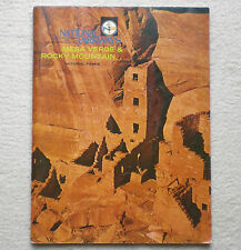 Vintage National Parkways Mesa Verde & Rocky Mountain, Photo & Map Guide, 1975