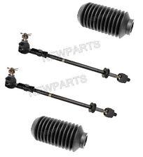 Porsche 951 (83-86) Tie Rod Assy +Boot KIT (4 pcs) OEM Steering Rack Ball Joint