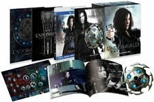 Underworld Awakening Limited Collector's BOX 3D & 2D Blu-ray Set Japan Tracking#