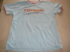 Bon`A Parte tolles T-Shirt Gr. 146 / 152 hellblau-orange !!