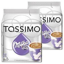 Tassimo Milka Caldo Cioccolata 2 confezioni 16 T Disc, 16 Drinks