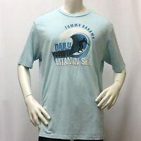 Tommy Bahama Men's T-Shirt DAILY DOSE OF VITAMIN SEA Mint Tee XL 2XL XXL