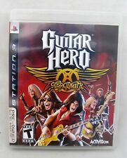 Guitar Hero: Aerosmith (Sony PlayStation 3, 2008) Play Station Video Game