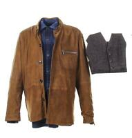 My Spy JJ Dave Bautista Screen Worn Jacket Vest & Shirt Ch 24-25 Sc 110-128