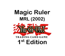 YuGiOh - Magic Ruler (2002) - MRL - 1st Edition - North American Edition