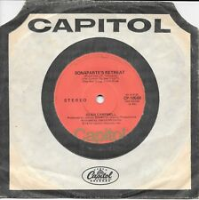 """GLEN CAMPBELL - BONARPARTE'S RETREAT - 7"""" 45 VINYL RECORD - 1974"""