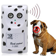 Ultrasonic Anti No Bark Stop Barking Wall Mount Dog Control Trainer