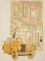 Original Vintage Poster - Noyer Denis-Paul - Lipp -Restaurant - Paris - 1979