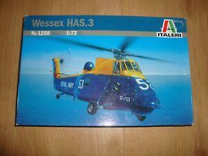 L224 Italeri Model Kit 1258 - Wessex HAS 3 - 1/72