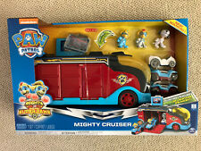 NEW! PAW Patrol Mighty Pups SuperPaws Mighty Cruiser ROBO & TWINS 2019 Exclusive